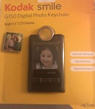 "Kodak Smile G150 Digital Photo keychain w/ 1.5"" LCD Display"