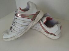 Pre-Owned Women's K Swiss Sneakers Size 8.5 White and Red Limited Edition