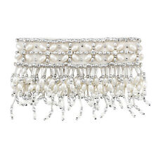 """Olivia Riegel 4"""" Emily Candle Cuff with Silver Beads - Brand New!"""