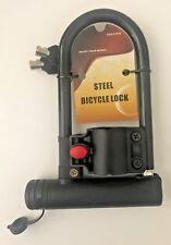 3''x6'' Steel U-Shape Bicycle Lock-Heavy Duty Security Lock-2keys-USA SELLER