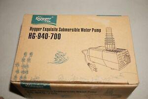 Hygger Exquisite Submersible Water Pump (HG-940-700) 10W 185 GPH Fresh / Salt