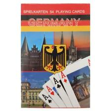54 Blatt Spielkarten Deutschland Souvenir Pokerkarten Skartkarten Brd Germany