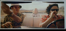 """Fear and Loathing in Las Vegas Enormous 56"""" x 24"""" Movie Poster Johnny Depp Bar"""