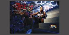 Rare Allen Iverson URBAN PORTRAIT PHILLY 2004 Philadelphia 76ers Costacos POSTER