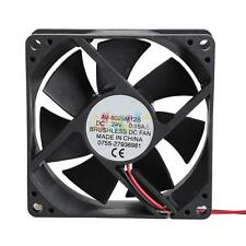 24V Mini Cooling Computer Fan 80mm x 80mmx 25mm DC Brushless 7 Blades #HE