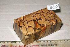 Griffblock Box Mod Buche gestockt Holz stabilisiert 121x66x39mm puq EG06