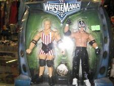 WWE WRESTLEMANIA 22 - KURT ANGLE VS REY MYSTERIO Series 3 Action Figures