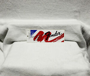 Fender Guitars Sticker<<>>ORIGINAL<<>>RED WHITE & BLUE
