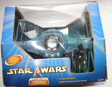 star wars SAGA 2003 Imperial TIE fighter w pilot open box clean   620