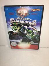 *** Monster Jam Circuit Champions DVD Grave Digger Madusa 2004 World Finals ***