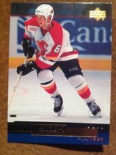'99 Phil Housley Calgary Flames NHL Hockey Card Hall of Fame USA Buffalo N-Mint+