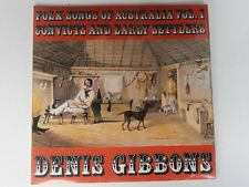Denis Gibbons - Folk Songs of Australia vol. 1 CONVICTS and EARLY SETTLERS - LP