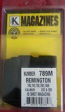 New Triple K Remington 740 742 750 760 7400 .243 243 308 789M 10RD Mag Clip