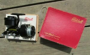 Early Vintage 301 LH MITCHELL GARCIA Left Hand Spinning Reel with Box & Inserts