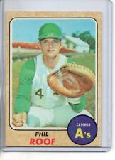 1968 TOPPS PHIL ROOF #484 ( EX-MT OR BETTER )