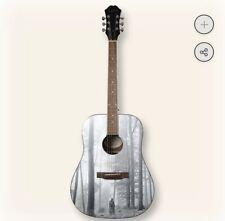 Taylor Swift Folklore Album Guitar Epiphone DR-100 Acoustic Guitar