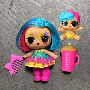 LOL Surprise Poupée HairGoals Splatters Makeover Séries Color Change Doll Jouet