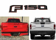 Genuine OEM Red & Black Tailgate Emblem For 2015-2017 Ford F-150 New Free Ship