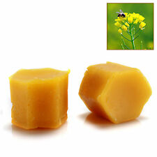 10 pcs ORGANIC Beeswax Cosmetic Grade Filtered Natural Pure Yellow Bees wax
