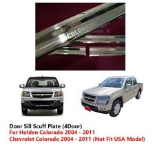 4 DOOR SILL SCUFF PLATE USE FOR CHEVROLET / HOLDEN COLORADO 2002 - 2011