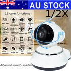1/2X Night Vision Wireless Pan Tilt HD 720P IP WiFi Camera Security CCTV Network
