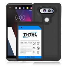 High Capacity 10800mAh Extended Battery + TPU Cover for LG V20 H918 T-Mobile USA