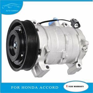 A/C Compressor and Clutch For 2003-2007 Honda Accord 2.4L CO-28003C 1521-609
