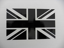 Union Jack English flag decal cars fun vinyl stickers van bumper decal 5342Black