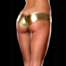Sale Intimates Underwear Metallic Lingerie Panties Knickers G-String Micro Thong