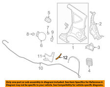 NISSAN OEM 14-16 Versa Note Exterior-Stone Deflector Guard Right 788163WC0A
