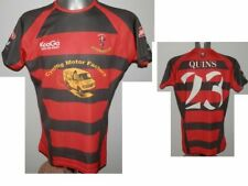 Rare Aberavon Harlequins RFC Quins #23 Kooga Rugby SHIRT Jersey size - L