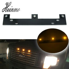 Raptor Style Amber LED Grille Lights w/ Mounting Bracket For 2009-up Ford F150