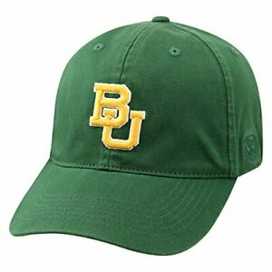 Baylor Bears Hat Cap Relaxed One Fit Flex M/L Fits Size 7 1/8 to 7 7/8