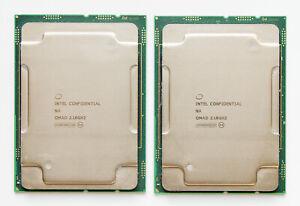 2x Intel Xeon Platinum 8170 QS QMAD CPU 2.1GHz (26C/52T) LGA3647 Dell HPE Lenovo