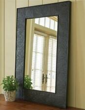 PRIMITIVE LARGE EMBOSSED STAR MIRROR In BLACK BY PARK DESIGNS. COUNTRY MIRROR