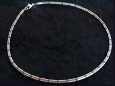 Titanium Titan Collier Halskette Hämatit grau Silber kurze lange Herren Damen 3