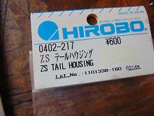 HIROBO SHUTTLE ZS TAIL HOUSING 0402-217 BNIB