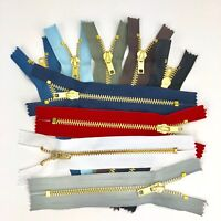 Top Quality Jeans Zips - 10 Colours, 5 Lengths, Free UK Postage, Volume Savings