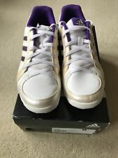 Adidas Sumbrah ladies trainers white/purple/gold - size 7 UK Look Unworn