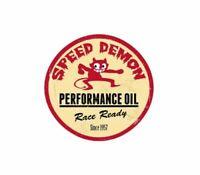 Speed Demon Performance Vintage Racing Hot Rod Racing Sticker Vinyl Decal 2-498