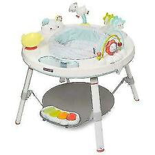 Skip Hop Explore & More Baby's View 3-Stage Activity Center - Silver/White