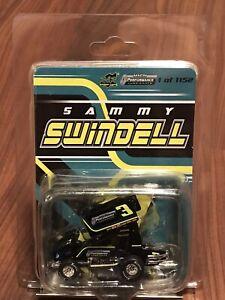 2018 SAMMY SWINDELL PERFORMANCE LUBRICANTS 1:64 OUTLAWS DIECAST SPRINT CAR R&R