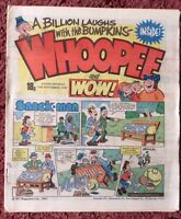WHOOPEE AND WOW COMIC. 19 NOVEMBER 1983. UNSOLD NEWSAGENT STOCK. UNREAD.