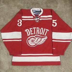 Reebok Jimmy Howard Detroit Red Wings 2014 Winter Classic NHL Jersey Red S