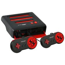Retro-Bit Super RetroTRIO 3-in-1 System  (NES/SNES/Genesis) - Red/Black