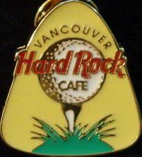 Hard Rock Cafe VANCOUVER 1997 Golf Tournament GUITAR PICK PIN HRC Catalog #10316