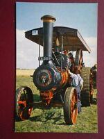 POSTCARD  BURRELL ROAD ENGINE NO 3798 'RED GAUNLET' DOUBLE CRANK COMPUND