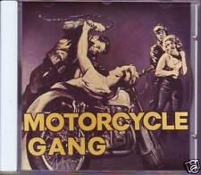 V.A. - MOTORCYCLE GANG - Buffalo Bop 55008  Rock CD