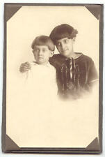 Vintage Cabinet Photo Brother Sister Steubenville Ohio