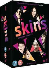 Skins Uk Series Complete Seasons 1 - 7  New DVD Boxset